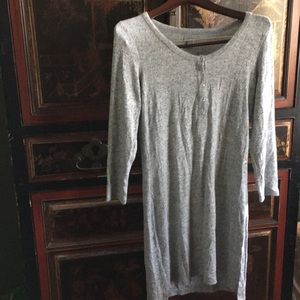 Aerie Sweater Dress Gray Small